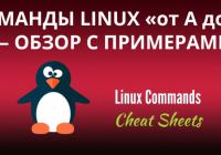 "Команды Linux от ""A"" до ""Z"", с примерами."